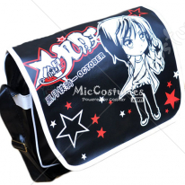 Star Stealing Girl Black Shoulder Bag