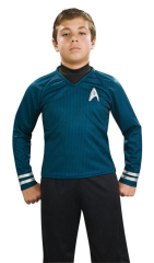Star Trek Child Deluxe Blue Costume