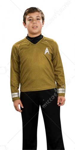 Star Trek Child Deluxe Gold Costume