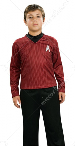 Star Trek Child Deluxe Red Costume