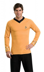 Star Trek Classic Gold Shirt Adult Costume