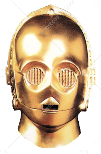 Star Wars C3PO Deluxe Adult Mask