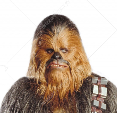 Star Wars Chewbacca Mask