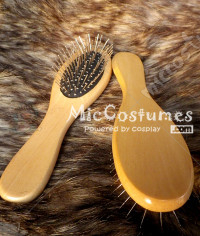 Steel Comb For Cosplay Perruque Anti Static