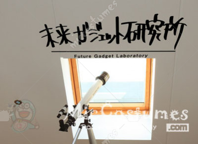 Steins Gate Future Gadget Laboratory Wall Sticker