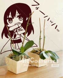 Steins Gate Kurisu Makise Wall Sticker