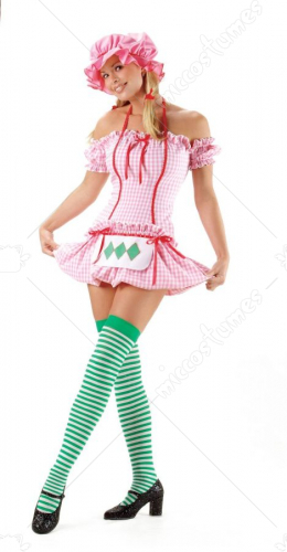 Strawberry Doll Sexy Adult Costume