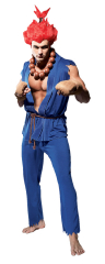 Street Fighter Akuma Mens Adult Costume