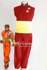 Street Fighter Alpha Guy Cosplay Costume