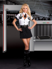 Strip Search Officer Tara U Clothesoff Adult Costume