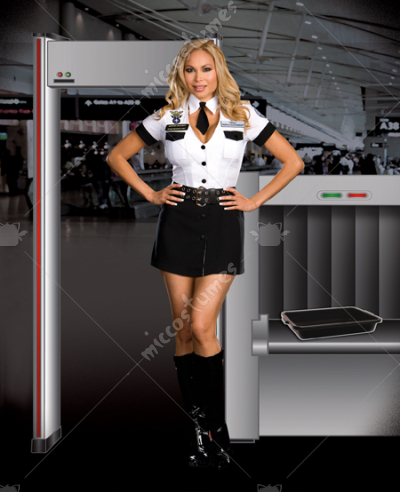 Strip Search Officer Tara U Clothesoff Adult Plus Costume
