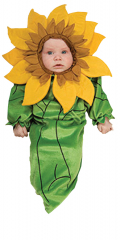 Sunflower Newborn Baby Costume