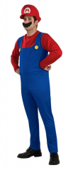 Super Mario Mario Adult Costume