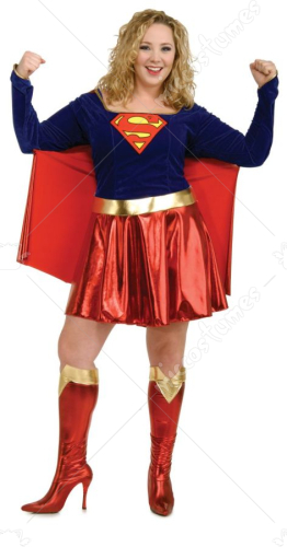 Supergirl Plus Size Costume