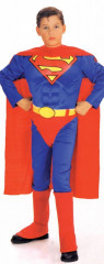 Superman Child With Chest Costume