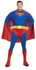 Superman Muscle Chest Plus Size Adult Costume