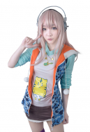 Supersonico Cute Tiger Cosplay Coat