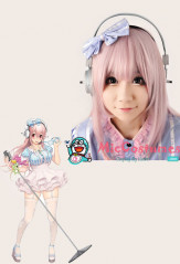 Super Sonico Cosplay Wig