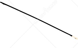 Swagger Stick Thin Black