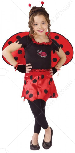 Sweetheart Lady Bug Child Costume
