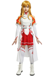 Sword Art Online SAO Asuna Yuuki Cosplay Costume Battle Suit Uniform