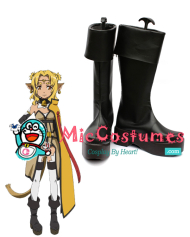 Sword Art Online Alicia Rue Cosplay Boots