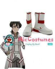 Sword Art Online Knights of the Blood Kirito Cosplay Boots