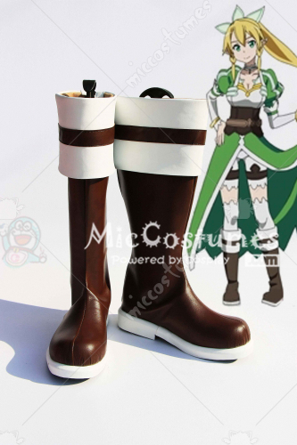 Sword Art Online Lyfa Cosplay Boots
