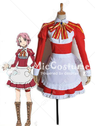Sword Art Online Lisbeth Cosplay Costume
