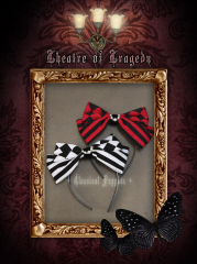 Classical Puppets Gothic Bowknot Lolita Headwear