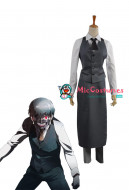 Tokyo Ghoul Ken Kaneki Cosplay Work Uniform