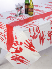 Tablecloth Bloody Hand Vinyl