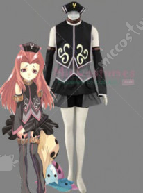 Tales of the Abyss Arietta Cosplay Costume