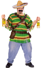 Tequila Pop N Dude Plus Size Adult Costume