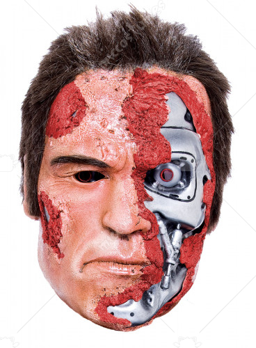 Terminator 2 Judgemnt Day Mask