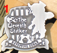The Eleventh Striker Conan Badge