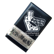 The Lost Ship in the Sky Conan Bifold Long Wallet