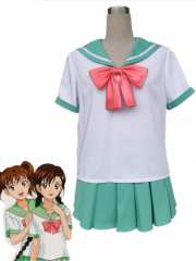 The Prince of Tennis Seigaku Women Summer Uniform