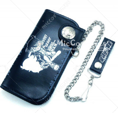 The Raven Chaser Conan Long Wallet Black