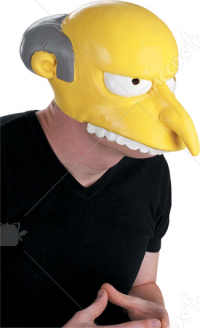 The Simpsons Mr Burns Half Mask