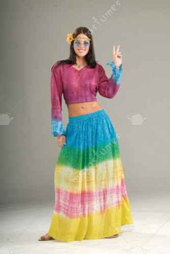 Tie Dyed Skirt