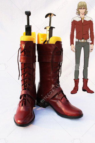 Tiger Bunny Barnaby Brooks Jr Cosplay Boots