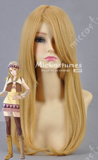 Tiger Bunny Blue Rose Karina Lyle Cosplay Wig