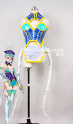 Tiger Bunny Blue Rose Karina Lyle Fight Cosplay Costume