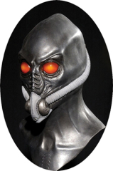 Time traveler resurrection alien mask