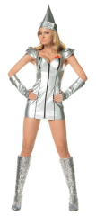 Tin Lady Sexy Adult Costume