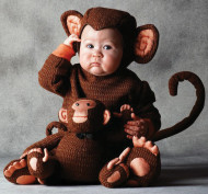 Tom Arma Monkey Costume