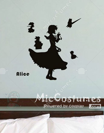 Touhou Project Alice Wall Sticker