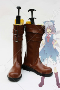 Touhou Project Cirno Cosplay Shoes