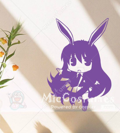 Touhou Project Cute Reisen Wall Sticker